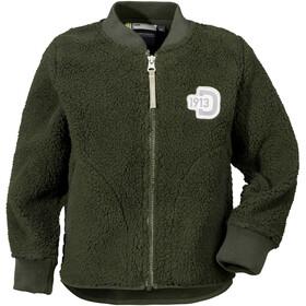 Didriksons 1913 Orsa Pile Jacket Kids Stone Green